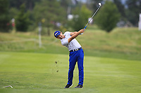 Petr Dedek (CZE) on the 5th fairway during Round 1 of the D+D Real Czech Masters at the Albatross Golf Resort, Prague, Czech Rep. 31/08/2017<br /> Picture: Golffile | Thos Caffrey<br /> <br /> <br /> All photo usage must carry mandatory copyright credit     (&copy; Golffile | Thos Caffrey)