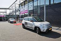 April 16, 2015, Netherlands, Den Bosch, Maaspoort, Fedcup Netherlands-Australia,  Entrance<br /> Photo: Tennisimages/Henk Koster