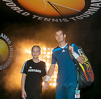 13-02-14, Netherlands,Rotterdam,Ahoy, ABNAMROWTT, Andy Murray(GRB)<br /> Photo:Tennisimages/Henk Koster