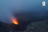 Italy, Sicily, Vulcano Island, Stromboli Volcano erupting (Licence this image exclusively with Getty: http://www.gettyimages.com/detail/sb10069714s-001 )