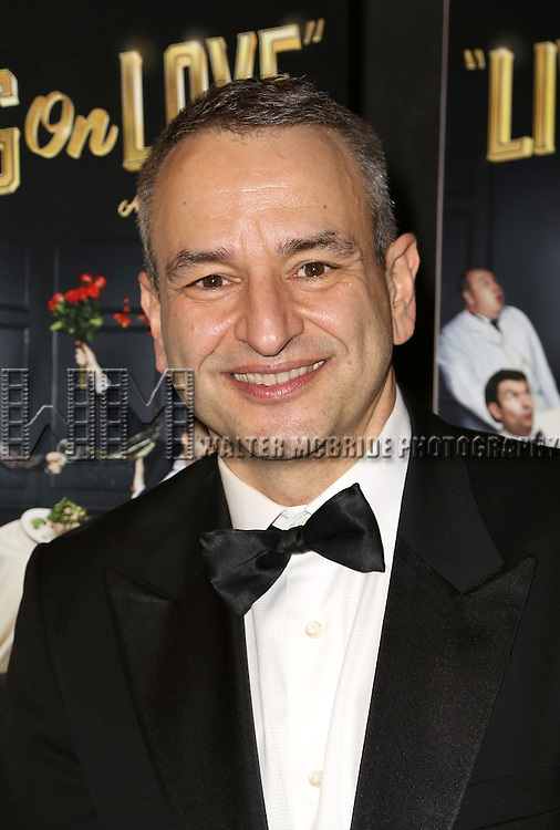 Joe DiPietro attends the Broadway Opening Night Performance After Party for 'Living on Love' at Sardi's on April 20, 2015 in New York City.