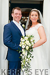 Mary Dennehy, daughter of Micheal & Margaret Dennehy, Bridge St., Ballylongford and Quentin Careaux, son of Pascal & Philipe Careaux, France who were married in St. Mary's Church, Listowel by Fr. Gerard Deiighan, on 7th May. Best man was Yohann Apoix and the groomsmen were Sebastien Billion & Fabien Auzal. The bridesmaids were Sinead Lynch, Siobhan Hennessy & Tara Dennehy. The flower girl was Siobhan Lynch . The reception was held in the Listowel Arms Hotel and the couple will live in Kenmare.
