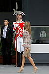 Princess Letizia of Spain attends the National Day Military Parad.October 12,2012.(ALTERPHOTOS/Acero)