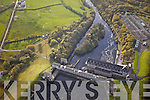 Aerial photos of Ardnacrusha hydro Power Station