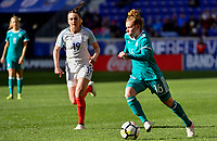 Harrison, N.J. - Sunday March 04, 2018: Linda Dallmann during a 2018 SheBelieves Cup match between the women's national teams of the Germany (GER) and England (ENG) at Red Bull Arena.