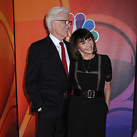 13 May 2019 - New York, New York - Ted Danson and Mary Steenburgen at the NBC 2019/2020 Upfront, at the Four Seasons Hotel. Photo Credit: LJ Fotos/AdMedia