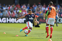 San Jose, CA - Thursday July 28, 2016: Arsenal FC prior to a Major League Soccer All-Star Game match between MLS All-Stars and Arsenal FC at Avaya Stadium.