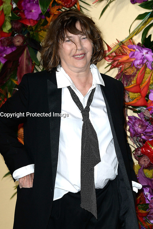 Jane BIRKIN - Gala d'ouverture de l'Opera de Paris - 24 septembre 2016 - Opera Garnier Paris - France