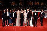 The cast of Eter<br /> Roma 19/10/2018. Auditorium parco della Musica. Festa del Cinema di Roma 2018.<br /> Rome October 19th 2018. Rome Film Fest 2018<br /> Foto Samantha Zucchi Insidefoto