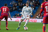 Real Madrid Theo Hernandez during King's Cup match between Real Madrid and CD Numancia at Santiago Bernabeu Stadium in Madrid, Spain. January 10, 2018. (ALTERPHOTOS/Borja B.Hojas) /NortePhoto.com NORTEPHOTOMEXICO