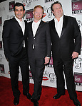 Ty Burrell,Jesse Tyler Ferguson and Eric Stonestreet at the Les Girls 10th Annual Cabaret fundraiser for National Breast Cancer Coalition Fund -NBCCF- held at Avalon in Hollywood, California on October 04,2010                                                                               © 2010 VanStory/Hollywood Press Agency