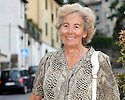 "SAGRA DEL ""PESCE E PATATE"" 2011, BARGA, ITALY<br /> <br /> HILDA PIERI (80) WHO HAS NOW RETURNED TO BARGA AFTER LIVING IN SCOTLAND."