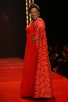 www.acepixs.com<br /> February 9, 2017  New York City<br /> <br /> CCH Pounder walks the runway at the American Heart Association's Go Red For Women Red Dress Collection 2017 presented by Macy's at Fashion Week at Hammerstein Ballroom on February 9, 2017 in New York City.<br /> <br /> Credit: Kristin Callahan/ACE Pictures<br /> <br /> <br /> Tel: 646 769 0430<br /> Email: info@acepixs.com