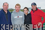 HANDLERS; The hare handlers at Ballyduff Coursing on Saturday. L-r: Patsy Rourke, Anthony Houlihan, Laura Rourke and John Hamill (Ballyduff).....   Copyright Kerry's Eye 2008