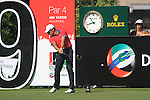 Ignacio Garrido tees off on the 9th tee during Day 1 of the Dubai World Championship, Earth Course, Jumeirah Golf Estates, Dubai, 25th November 2010..(Picture Eoin Clarke/www.golffile.ie)