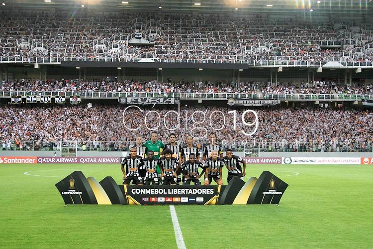 BELO HORIONTE, MG, 12.02.2019: ATLETICO(MG) X DANUBIO(URU)-  partida entre Atletico (MG) x Danubio (URU),  válida pelo jogo de volta da fase classificatoria para a Copa Libertadores 2018,  no Estadio Independencia em Belo Horizonte, MG, na noite desta terça feira (12) (foto Giazi Cavalcante/Codigo19)