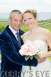 Lorraine Carey and John McGibney, both Fenit who were married in a civil ceremony at Ballyroe heights hotel, Tralee last Friday afternoon. The bestman was Jason McGibney and the flower girl was Elise Carey McGibney.