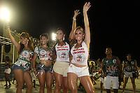 RIO DE JANEIRO,22 DE  JANEIRO DE 2012 -  ENSAIO T&Eacute;CNICO DA ACAD&Ecirc;MICOS GRANDE  RIO  - Ensaio t&eacute;cnico na  capital fluminense , Rio de Janeiro.<br /> Na Foto: Dan&ccedil;arina do cantor Latino <br /> Local : Samb&oacute;dramo <br /> Foto : Guto Maia / News Free