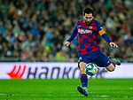 FC Barcelona's forwar Lionel Messi seen in action during La Liga match. Mar 01, 2020. (ALTERPHOTOS/Manu R.B.)