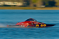 "Nicky Pellerin, A-60 ""Mr. Bud"", 2.5 Mod hydroplane"