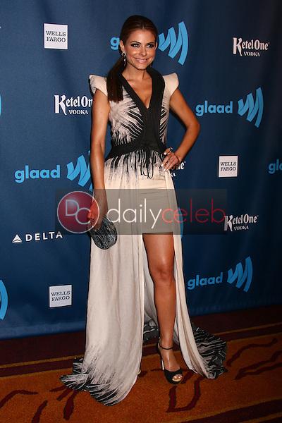 Maria Menounos<br /> at the 24th Annual GLAAD Media Awards, JW Marriott, Los Angeles, CA 04-20-13<br /> David Edwards/DailyCeleb.Com 818-249-4998