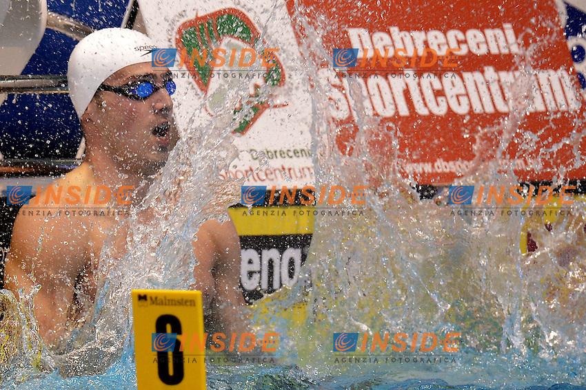 Rafael Munoz Spain Gold Medal men's 50m butterfly.Debrecen 22/5/2012 .31st European Swimming Championships - Nuoto.Foto Insidefoto / Andrea Staccioli