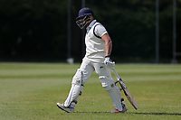 B Patel of Wanstead leaves the field having been dismissed during Brentwood CC vs Wanstead and Snaresbrook CC (batting), Shepherd Neame Essex League Cricket at The Old County Ground on 11th May 2019