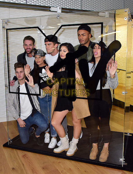 Cast of MTV's Geordie Shore at press day and launch of Series 12, at MTV&rsquo;s Headquarters in Camden, London, England - 16 February 2016.<br /> CAP/JOR<br /> &copy;JOR/Capital Pictures