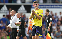 Blackburn Rovers' Darragh Lenihan  applauds the crowd at the end of todays match<br /> <br /> <br /> Photographer Rachel Holborn/CameraSport<br /> <br /> The EFL Sky Bet Championship - Ipswich Town v Blackburn Rovers - Saturday 4th August 2018 - Portman Road - Ipswich<br /> <br /> World Copyright &copy; 2018 CameraSport. All rights reserved. 43 Linden Ave. Countesthorpe. Leicester. England. LE8 5PG - Tel: +44 (0) 116 277 4147 - admin@camerasport.com - www.camerasport.com