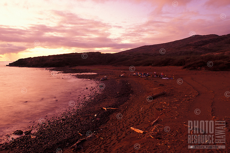 Beach at Hakioawa Bay on the island of Kahoolawe