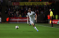 Pictured: Ben Davies.<br /> Monday 16 September 2013<br /> Re: Barclay's Premier League, Swansea City FC v Liverpool at the Liberty Stadium, south Wales.