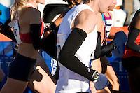 The start of the Women's Elite runners at the ING New York City Marathon on Staten Island on 07 November 2010.