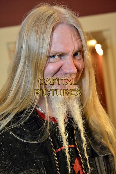 Nightwish - Marko Hietala.Imaginaerum film premiere, St. Petersburg, Russia..May 27th, 2013.headshot portrait black red top goatee facial hair  .CAP/PER/VB.©VB/PersonaStars/CapitalPictures