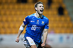 St Johnstone v Hamilton Accies&hellip;10.11.18&hellip;   McDiarmid Park    SPFL<br />David Wotherspoon celebrates his goal<br />Picture by Graeme Hart. <br />Copyright Perthshire Picture Agency<br />Tel: 01738 623350  Mobile: 07990 594431