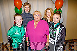 Emma, Elizabeth and Sophie Cronin, Denise Lynch and Olivia Dineen from Michael Murphy School of Dancing Tralee at the WIDA Irish Dancing Associations championships in the Brandon Hotel on Saturday morning.
