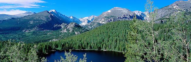 feeling like summer at Bear Lake in Rocky Mountain National Park, Colorado, USA