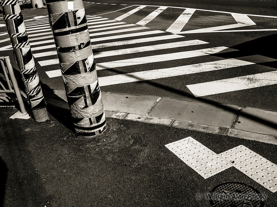 Street Signs in Ota, Japan 2014.