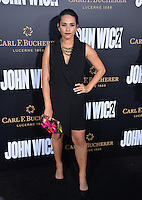 Tiffany Smith at the premiere of &quot;John Wick Chapter Two&quot; at the Arclight Theatre, Hollywood. <br /> Los Angeles, USA 30th January  2017<br /> Picture: Paul Smith/Featureflash/SilverHub 0208 004 5359 sales@silverhubmedia.com