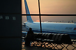 Beijing Capital International Airport. April 8, 2016