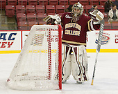 Katie Burt (BC - 33) - The visiting Boston College Eagles defeated the Harvard University Crimson 2-0 on Tuesday, January 19, 2016, at Bright-Landry Hockey Center in Boston, Massachusetts.