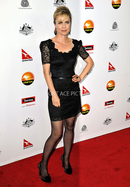 WWW.ACEPIXS.COM......January 12, 2013, Los Angeles, CA.......Radha Mitchell arrivng at the 2013 G'Day USA Black Tie Gala at JW Marriott Los Angeles  on January 12, 2013 in Los Angeles, California. ..............By Line: Peter West/ACE Pictures....ACE Pictures, Inc..Tel: 646 769 0430..Email: info@acepixs.com