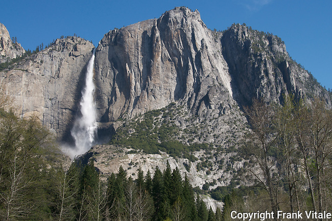 Yosemite Falls in Spring, Yosemite National Park