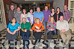 45th Wedding Anniversary: Brendan & Ena O'Neill, Pouleen Tarbert celebrating their 45th Wedding anniversary at The Listowel Arms Hotel with family and friends on Sunday night last. Front: Nora Mcmahon, Brendan O'Neill, Ena O'Neill, Catriona O'Shea & Brendan O'Neill, Jr. Back : Ger McMahon, Brian O'Neill, Kelly O'Neill, Katherine O'Neill, Michael O'Neill, Daniel O'Shea, Catherine O'Neill, Fiona O'Neill & Paudie O'Neill.