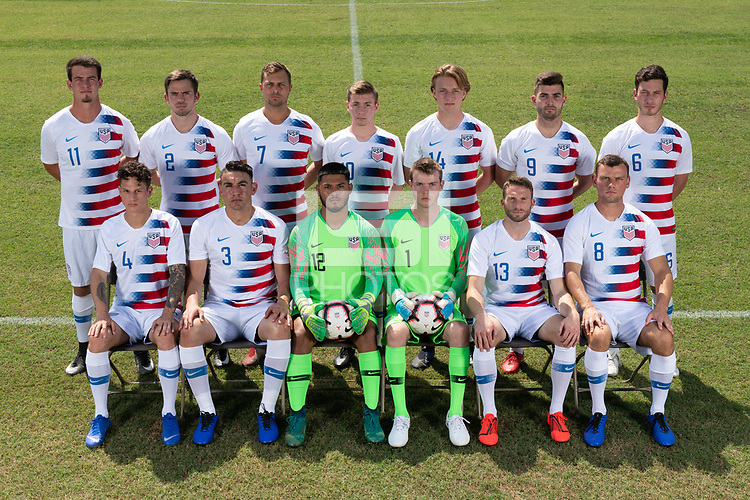 Rome, GA - Friday, June 21, 2019:  Para 7 USMNT headshot of .