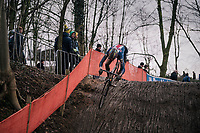 Gage Hecht (USA)<br /> <br /> U23 Men's Race<br /> UCI CX Worlds 2018<br /> Valkenburg - The Netherlands