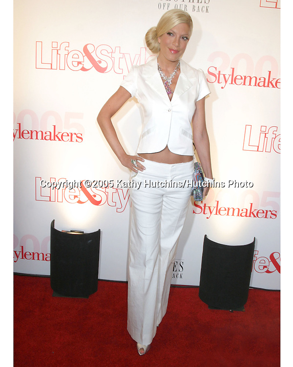 Tori Spelling.Stylemakers 2005.Los Angeles, CA.May 26, 2005.©2005 Kathy Hutchins / Hutchins Photo