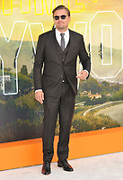 """LONDON, ENGLAND - JULY 30: Leonardo DiCaprio at the """"Once Upon A Time In ... Hollywood"""" UK film premiere, Odeon Luxe Leicester Square, Leicester Square, on Tuesday 30 July 2019 in London, England, UK.<br /> CAP/CAN<br /> ©CAN/Capital Pictures"""