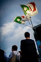 Bologna agosto settembre 2014, Festa Nazionale dell'Unità. Migliaia di volontari per quasi un milione di visitatori.