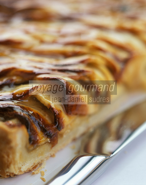 Europe/France/Normandie/Basse-Normandie/14/Calvados : Tarte normande