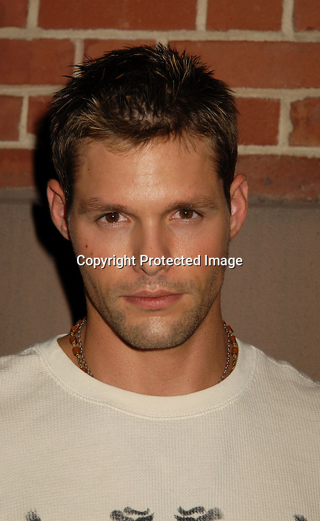 "Justin Bruening ..at a party for All My Children's Cady McClain's debut album ""BlueGlitterFish"" on June 11, 2006 at The Kitchen Club in Soho. ..Robin Platzer, Twin Images"